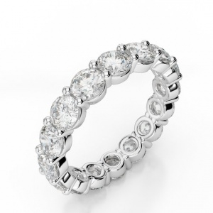 Stacking Eternity Fashion Rings 925 in Sterling Silver YCR7490